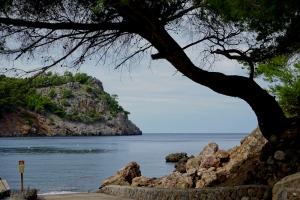 Cala Tuent at sea level.