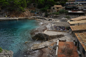 This is sa Calobra = more of a port than a swimming beach.