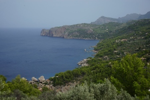 The view from Sa Pedrissa toward the sea