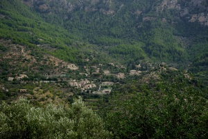 Deia (Deya) seen from Sa Pedrissa