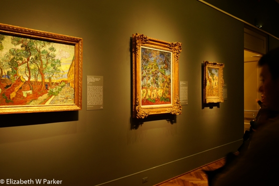 "There are lots of wonderful paintings to enjoy, beyond the ""bedrooms."""