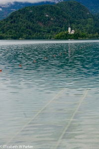 Practive and competition for Olympic rowing is held on Lake Bled.