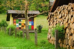 Slovenian beehives