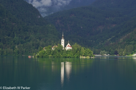 Chapel of St. Mary on Lake Bled