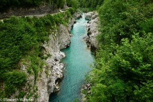 Another view of the Soca River