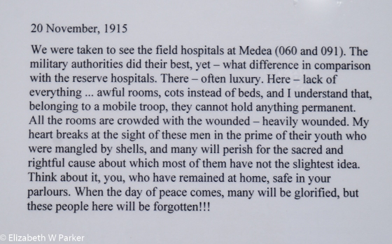 reminder of what war means. Be sure you read it through.