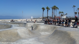 Skateboard Park at Venice Beach (The kid is about 6.)