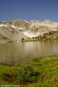 Sierra Nevada above the alpine lakes of Inyo National Forest