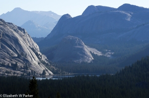 Tenaya Lake, Yosemite National Park (seen from Olmsted Point)