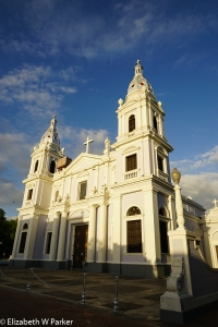 The cathedral of Ponce in the late afternoon sun.