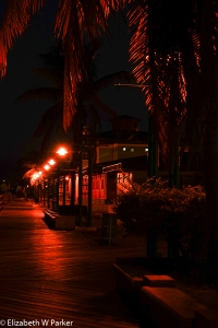 La Guancha is deserted in the predawn hours.