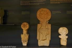 Basque funeral stele in the San Telmo Museum